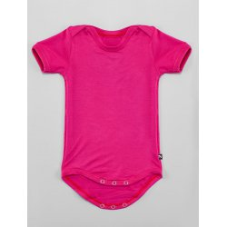 DuoMamas childern bodysuit - short sleeves - pink