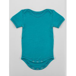 DuoMamas childern bodysuit - short sleeves - emerald