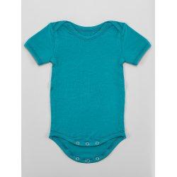 DuoMamas childern bodysuit - short sleeves - emerald