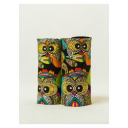 Isara Teething Pads Funky Owls