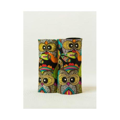 Isara Teething Pads Funky Owls