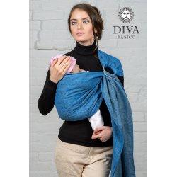 Diva Milano ring sling Basico Zaffiro