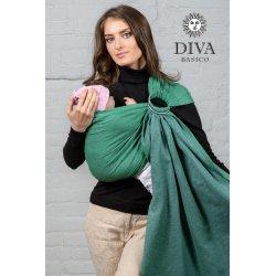 Diva Milano ring sling Basico Aloe