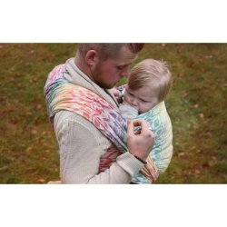 Yaro Ring sling La Vita Autumn Rainbow