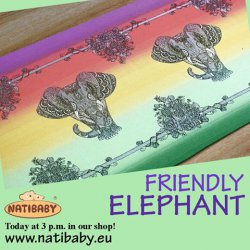 Natibaby Friendly Elephant