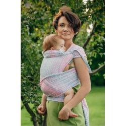 LennyLamb WRAP-TAI nosítko Luxury Little Love Rose Garden