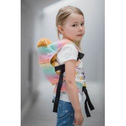 LennyLamb dětské nosítko pro panenky LITTLE HERRINGBONE IMAGINATION