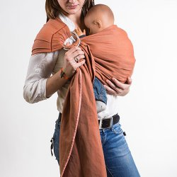 NéoBulle Ring sling Bulline - Orange Terra