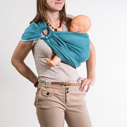 NéoBulle Ring sling Neo'Sling - Blue Denim