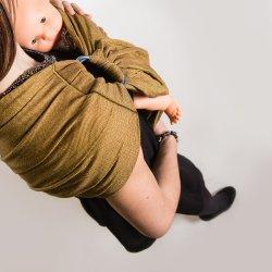 NéoBulle Ring sling Bulline - Jaune Miel