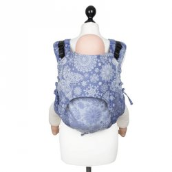 Fidella Onbuhimo back carrier - Iced Butterfly Pearl Blue