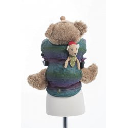 LennyLamb Doll Carriers Little Herringbone Impression Dark