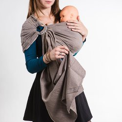NéoBulle Ring sling Neo'Sling - Cappuccino