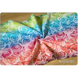 Natibaby Roses White Rainbow II