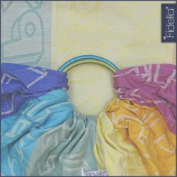 Fidella ring sling Happy Colour Boom