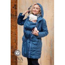 Diva Milano zimní kabát 4v1 Azzurro