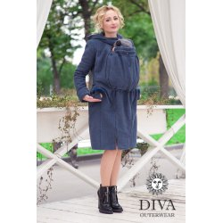 Diva Milano babywearing coat 4 in 1 (winter) Notte