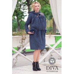 Diva Milano vlněný nosící kabát 4v1 Notte