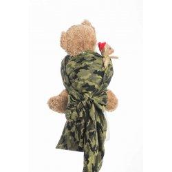 LennyLamb dětský šátek pro panenky Green Camo