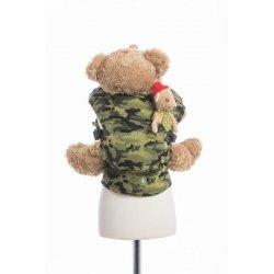 LennyLamb dětské nosítko pro panenky Green Camo