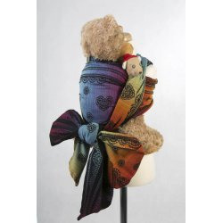 LennyLamb Doll Sling Rainbow Lace Dark