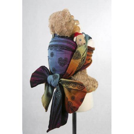 LennyLamb Doll Sling Rainbow Lace Dark