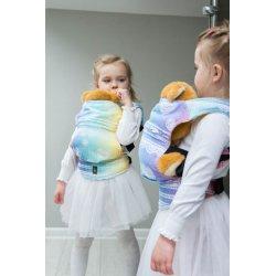LennyLamb dětské nosítko pro panenky Rainbow Lace