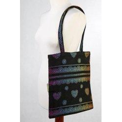LennyLamb Bag Rainbow Lace Dark Reverse