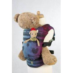 LennyLamb Doll Carriers Rainbow Lace Dark