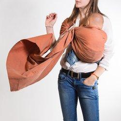 NéoBulle Ring sling Neo'Sling - Orange Terre