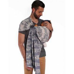 NéoBulle Ring sling Neo'Sling - Deauville Vague