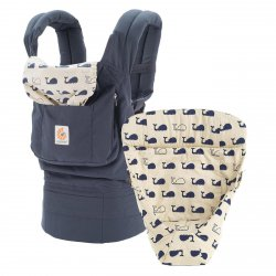 Ergobaby Set Bundle easy snug - Marine