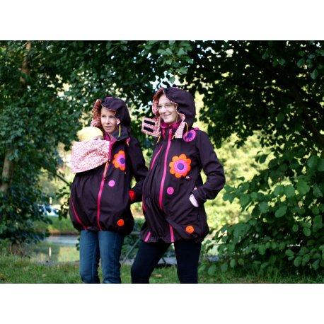 RebekaQ babywearing jacket Dina