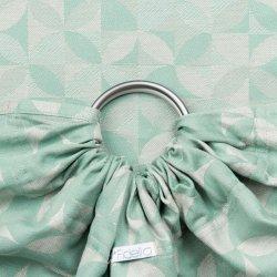 Fidella ring sling Kaleidoscope - mint