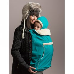 Isara babywearing cover Turquoise
