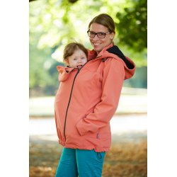 Gemini Softshell Jacket - salmon
