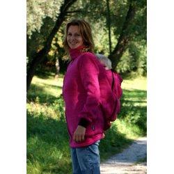 RebekaQ Nosící mikina růžová