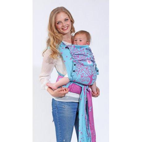 kokadi baby carrier WrapTai - Erna im Wunderland