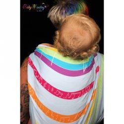 BabyMonkey - Rainbow Melody - lektorský šátek