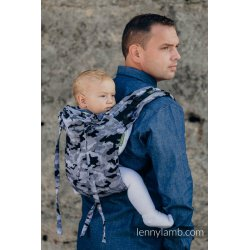 LennyLamb Onbuhimo back carrier - Grey Camo