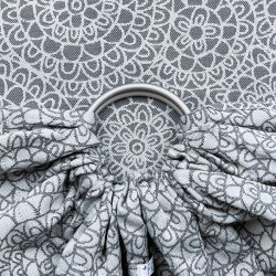Fidella ring sling Mosaic - stone grey