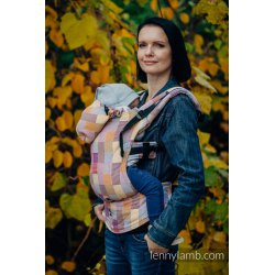 LennyLamb ergonomic carrier Crackle Weave Quartet