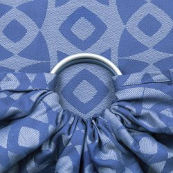 Fidella ring sling Night Owl - smooth blue