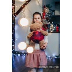 LennyLamb dětský šátek pro panenky Christmas Collection Warm Hearts With Cinnamon