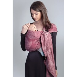 Diva Milano ring sling Essenza Berry (linen)