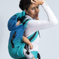 Indajani Evolution ergonomic carrier - Beenda Emerald