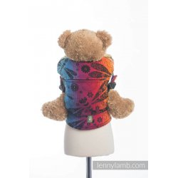 LennyLamb Doll Carriers Dragonfly Rainbow Dark