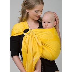 Diva Milano ring sling Essenza Limone