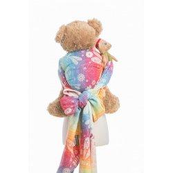 LennyLamb dětský šátek pro panenky Dragonfly Rainbow