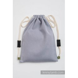 LennyLamb Taška SackPack Little Herringbone Grey